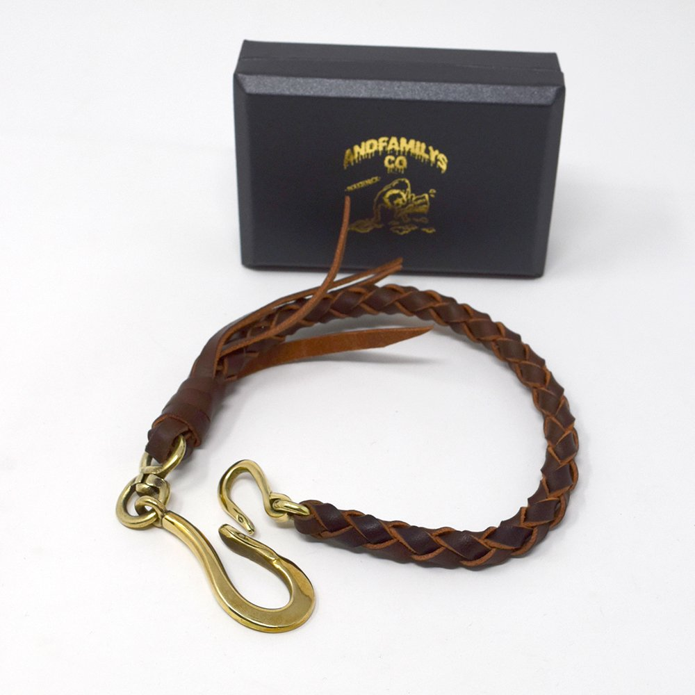 ANDFAMILY'S/ LEATHER WALLET ROPE