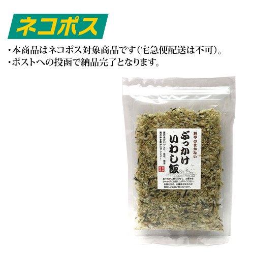 【ネコポス専用】ぶっかけいわし飯45g×1袋 ※他の商品と同梱不可