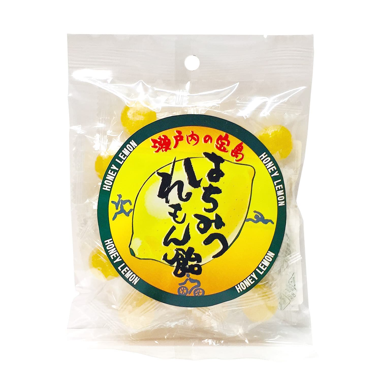 はちみつれもん飴 80g(大崎上島産はちみつ・レモン果汁使用) / 人工甘味料不使用