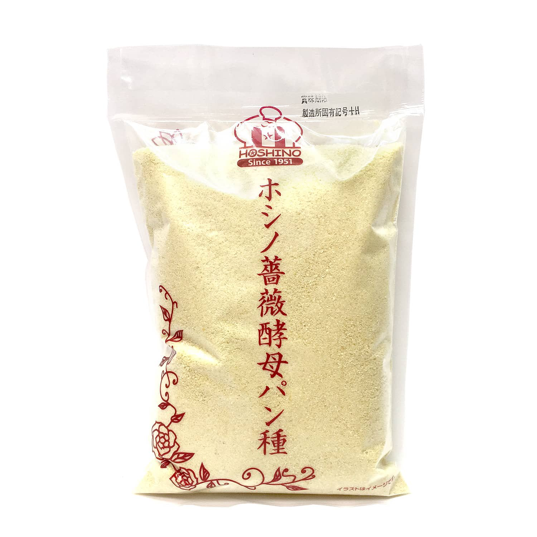 【クール冷蔵】ホシノ薔薇酵母パン種 500g / 福山市産バラ酵母を活用した「薔薇酵母パン種」