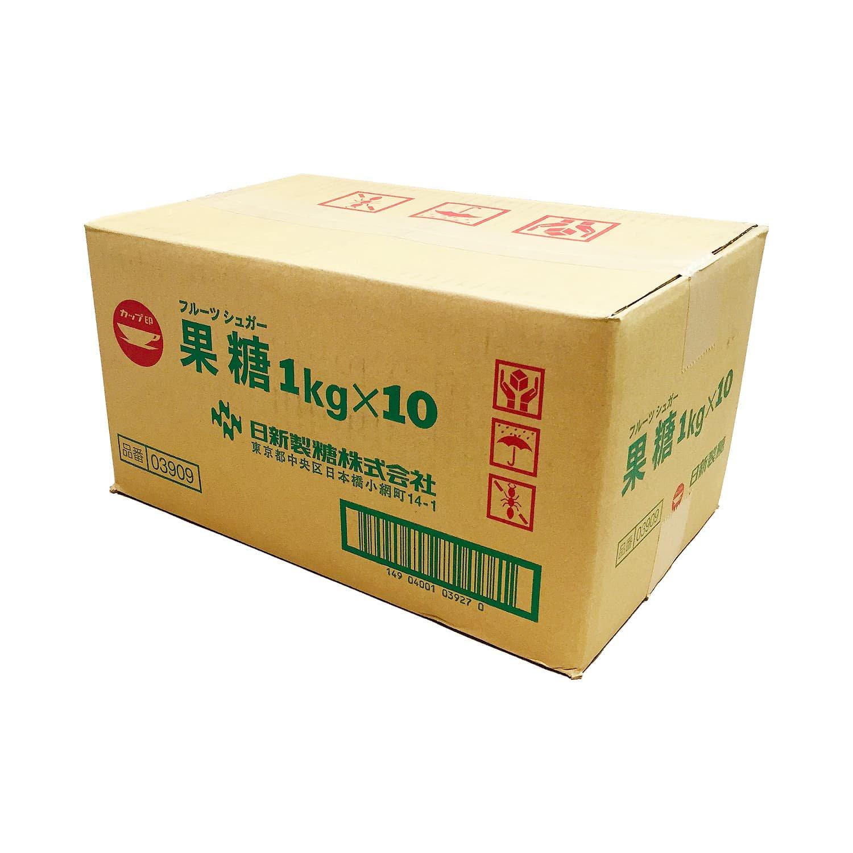 【業務用サイズ】果糖(フルーツシュガー) 1箱(1kg×10袋) / 切れの良いすっきりとした甘さ、普段のお料理のほか、梅酒作りやお菓子作りに