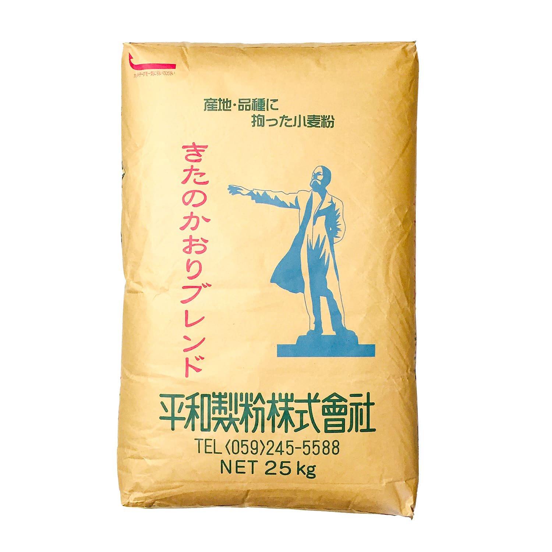 【送料無料(関東~九州・四国まで)】【業務用】きたのかおりブレンド 25kg 平和製粉 強力粉 / 北海道産小麦粉使用、各種パン作りに