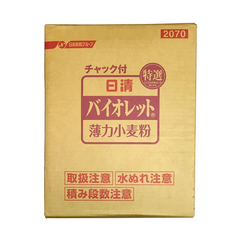 バイオレット 1箱(1kg×15袋) 日清製粉の薄力小麦粉 / ケーキなどのお菓子作り、天ぷらなどのお料理にも最適