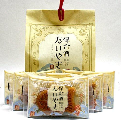 保命酒たいやき(5匹入) / 保命酒の風味あふれる「たいやき」形のおまんじゅう!独特の深い味わいとしっとり感が楽しめるご当地菓子(個包装)