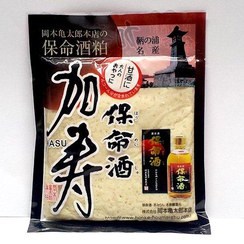 【クール冷蔵】岡本亀太郎本店の保命酒加寿(保命酒粕・みりん粕) 200g / 料理に甘酒に、お茶うけに