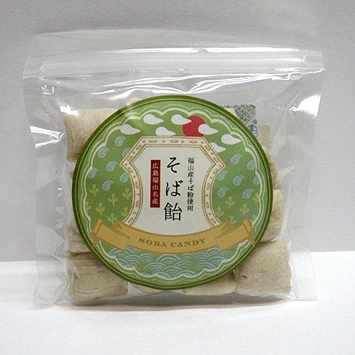 そば飴80g / 福山市山野町産そば粉使用 人工甘味料不使用