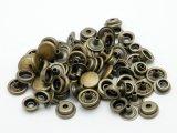 【箱売り】ジャンパーホック極小(#7090) アンティック 直径9.6mm×足の長さ4.5mm 1000ヶ