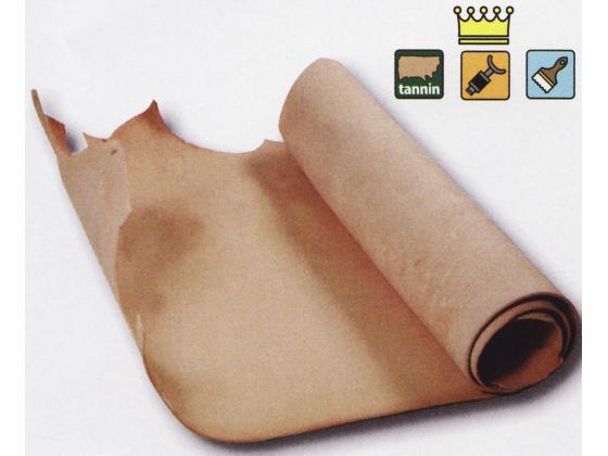 ニッピヌメ特厚 ナチュラル 約240デシ 4.0mm デシ145円(税込) 半裁