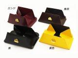 ハンディーパース 黒/焦茶/黄/エンジ W11×H9.5cm