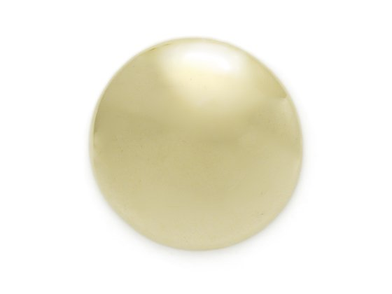 【在庫処分品80%OFF】レザーチャーム クローバー 中 ライトグリーン φ3.3mm 0.7mm厚 2枚