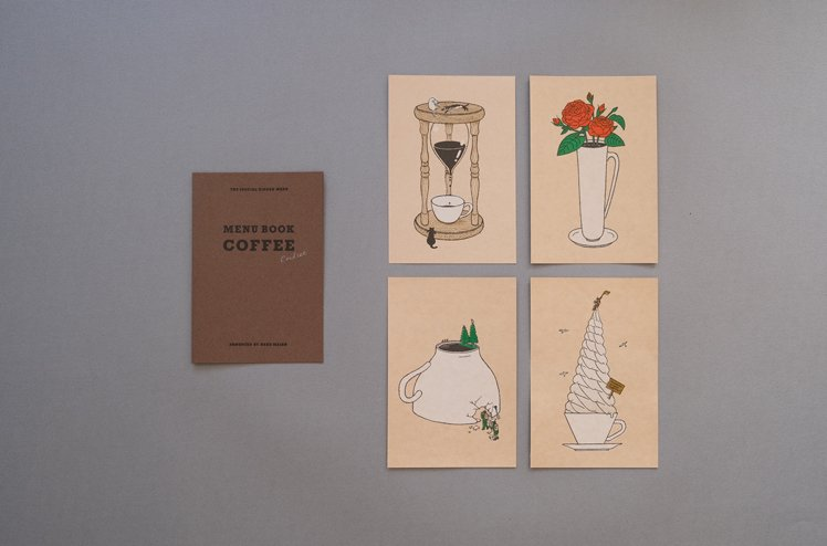 <img class='new_mark_img1' src='//img.shop-pro.jp/img/new/icons6.gif' style='border:none;display:inline;margin:0px;padding:0px;width:auto;' />Strange coffee cardset [嶽まいこ]