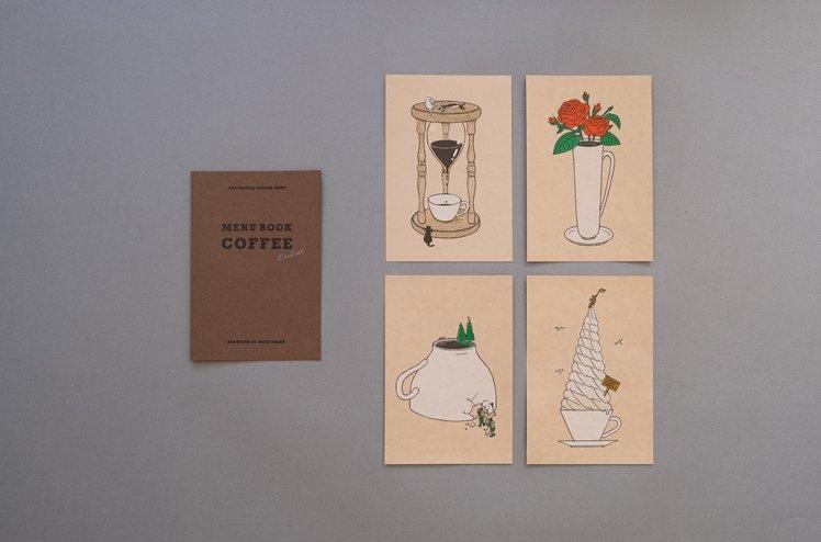 Strange coffee card set [嶽まいこ]