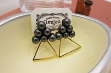 Pearl Party pierce/ブラック [umloo]