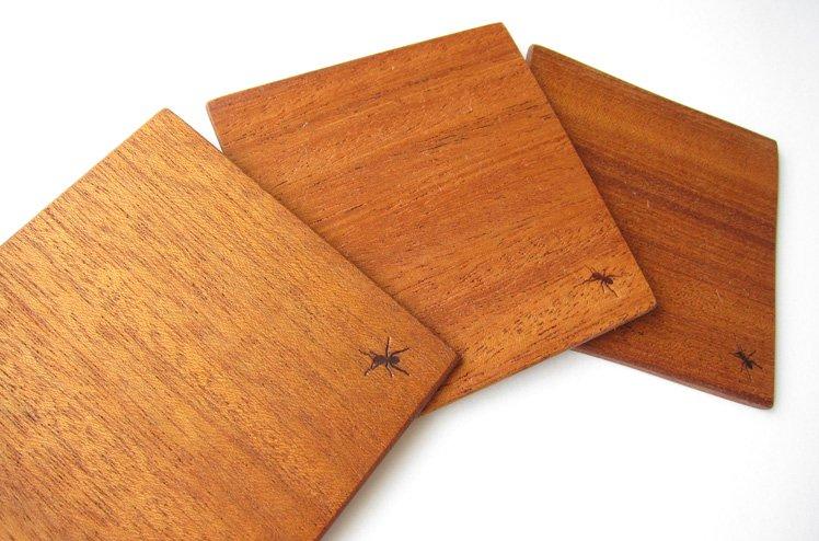 The BOCOS オリジナルGoods「木製コースター」