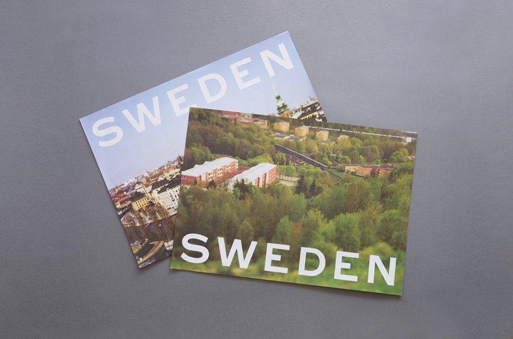 SWEDEN ポスター[本城直季]