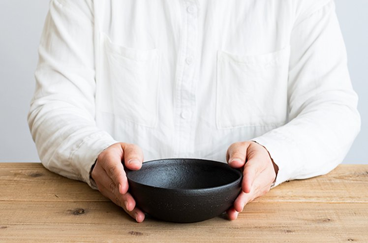 TEIBAN WARE ボウルM(とび茶)[明山窯]
