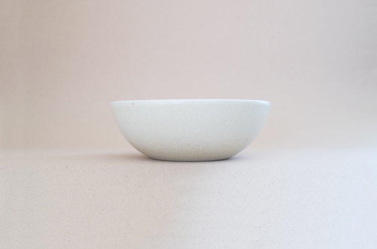 TEIBAN WARE ボウルL(生成り)[明山窯]