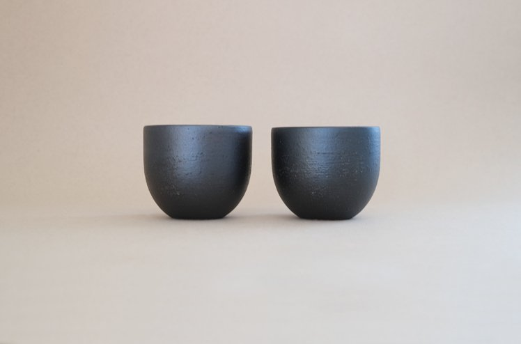 TEIBAN WARE カフェオレボール(とび茶)[明山窯]