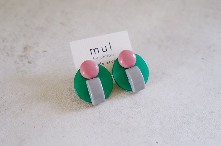 Acrylic earring 01 [mul by umloo]