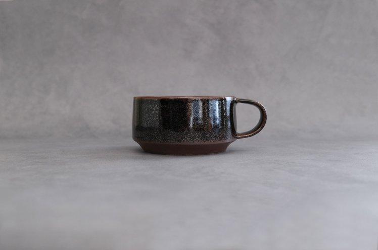 オトモ スープカップ(ブラック) [丸利玉樹利喜蔵商店]