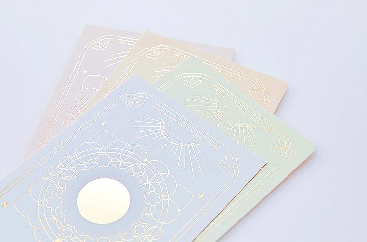 月のシグネチャーカードThe signature card of moon phase[福原 奈津子]