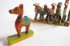 インド 木製の置物 2
