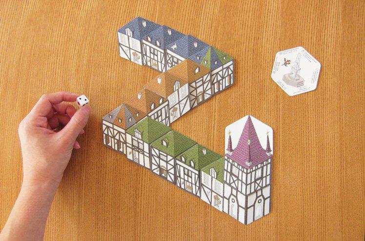 Rocca Town /カードゲーム[Rocca Spiele(ロッカ・シュピール)]