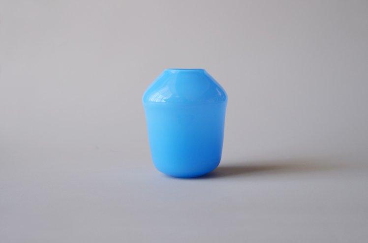 flower vase(blue) [浅沼千安紀]