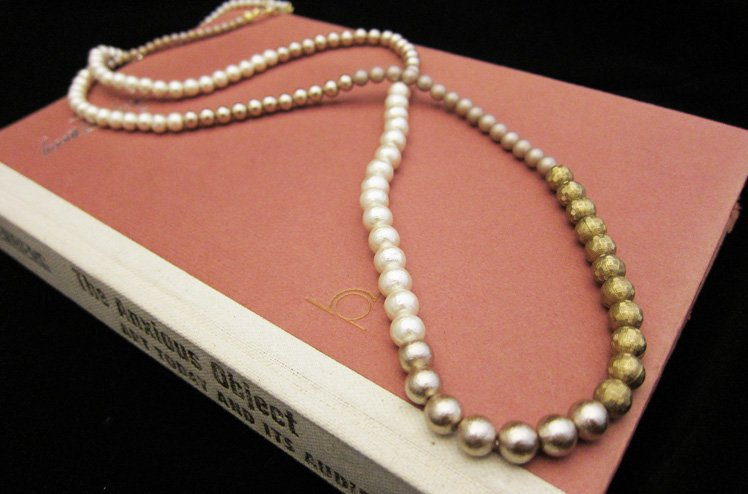 pearl party necklace [umloo]