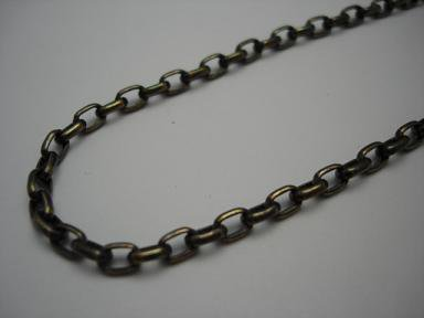 BRAVES SILVER Chain L 50cm