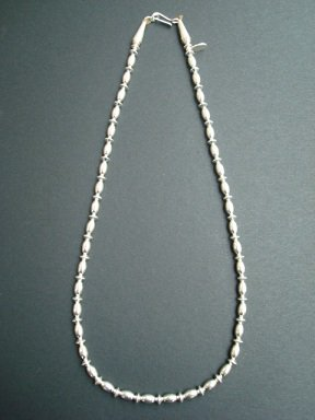 BRAVES SILVER Beads Chain 45cm