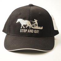 STOP&GO 3シーズン用キャップ(黒)