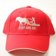 STOP&GO 3シーズン用キャップ(赤)