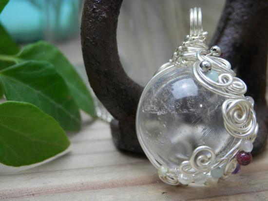 *バラのモチーフのワイヤーワーク  Kuthumi Style*