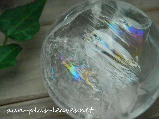 *天然水晶*丸玉50mm*(BEW12)