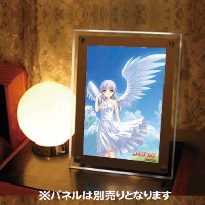 Angel Beats!<br>天使 かなで 空  AB05 <br>A4イラストフィルム