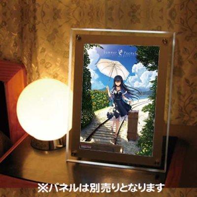 Summer Pockets<br>久島鴎 SP04<br>ピカットパネル用A4イラストフィルム