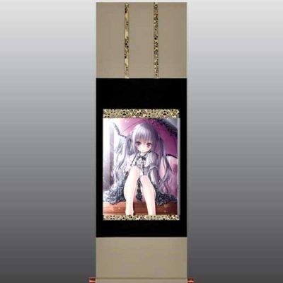 てぃんくる先生<br>「アニコミ2012夏」<br>美人画掛軸