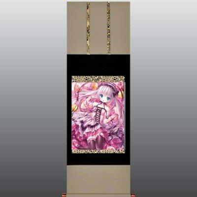 てぃんくる先生<br>「Spring Candy」<br>美人画掛軸