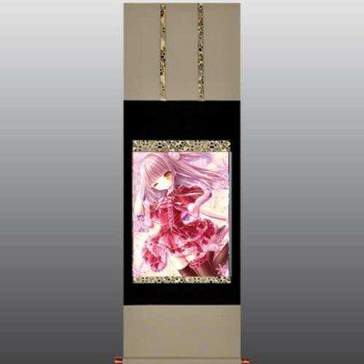 てぃんくる先生<br>「Chocolat Noel」<br>美人画掛軸