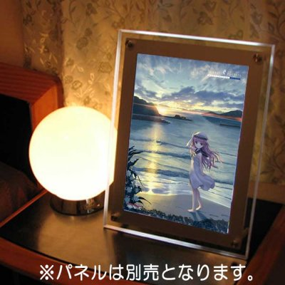 Summer Pockets REFLECTION BLUE<br>加藤うみ<br>A4イラストフィルム