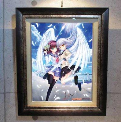 Angel Beats!<br>ソーシャルキービジュアル AB02<br>キャンバスアート・額装 (シリアルナンバー指定無)