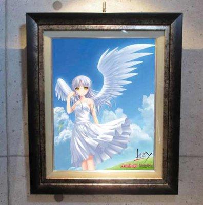 Angel Beats!<br>天使  AB05<br>キャンバスアート・額装 (シリアルナンバー指定無)