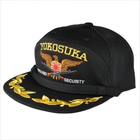 横須賀警備隊陸警隊識別帽子(モール付)