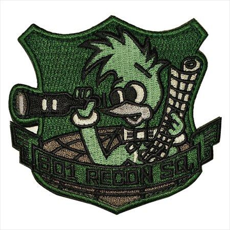 航空自衛隊グッズ 百里 第501飛行隊ロービジワッペン PA166-TN
