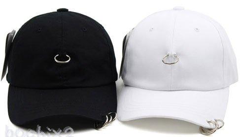SHINee KEY、テミン他多数愛用帽子 リングピアス キャップ 4リング アルスィミスト風★取り寄せ