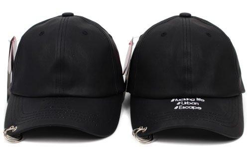 SHINee KEY、テミン他多数愛用帽子 リングピアスキャップ ツーリング ハッシュタグ アルスィミスト風★取り寄せ