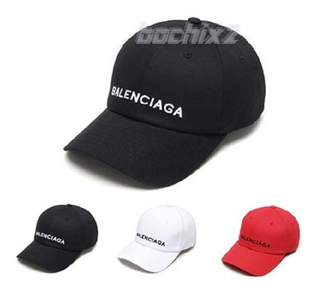 balenciagaロゴ風帽子 キャップ K-POP韓国ファッション★取寄せ