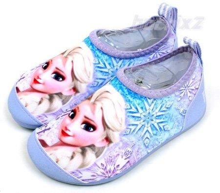ディズニー公式 「アナと雪の女王」 アクアスキンシューズ  子供用15〜21cm クールエルサ ★取り寄せ