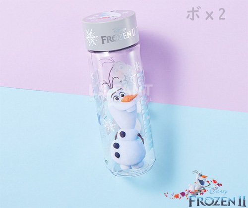 <img class='new_mark_img1' src='https://img.shop-pro.jp/img/new/icons6.gif' style='border:none;display:inline;margin:0px;padding:0px;width:auto;' />韓国限定 アナと雪の女王2 公式 オラフ エコボトル水筒 480ml★取寄せ